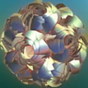 Flower Globe Poster