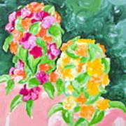 Flower Heads Poster