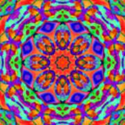 Flower Mandala 4 Poster