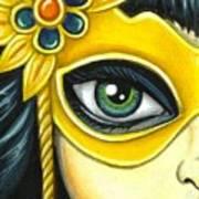 Flower Masquerade Poster