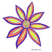Flower Of Joy Poster