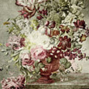 Flower Painting Poster