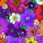 Flower Pond Vertical Poster