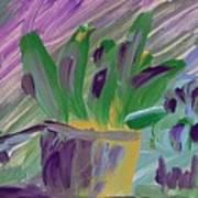 Flower Pot Poster by Steve Jorde