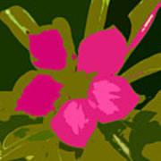 Flower Work Number 17 Poster