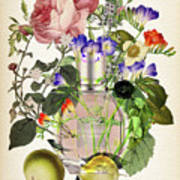 Flowerbomb Notes 3 - By Diana Van  Poster