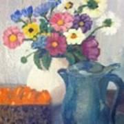 Flowered Love Poster