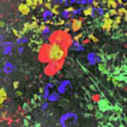 Flowers After Mass Poster