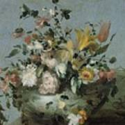 Flowers, Anonymous, C. 1700 - C. 1799 Poster