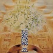 Flowers In Vase-leisure Poster