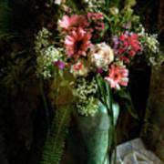 Flowers Still Life Poster