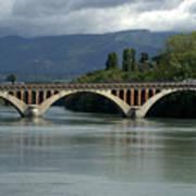 Flowing Bridge Poster