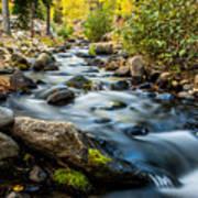 Flowing Creek Poster