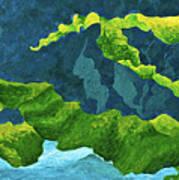 Flowing Kelp Poster