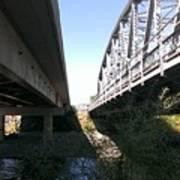 Flowing Under The Bridges Poster