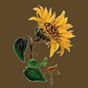Flower Power T-shirt Poster