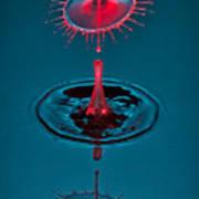 Fluid Parasol Poster by Susan Candelario