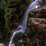Flume Gorge Waterfall Poster