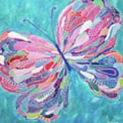 Fluttering Jewel Poster