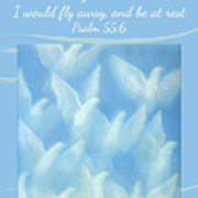 Fly Away And Be At Rest Poster