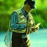 Fly Fisher II Poster