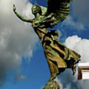 Flying Angel Poster