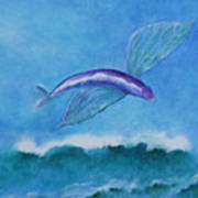 Flying Fish Poster