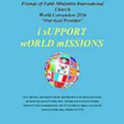 Fofmi Missions Tshirt Poster