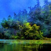 Fog Lake Poster