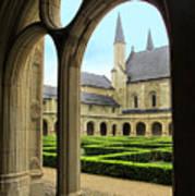 Fontevraud Abbey Poster