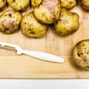 Food Prep In Progress Poster