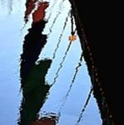 Foot Bridge Reflections 487 Poster