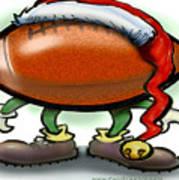 Football Christmas Poster