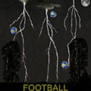 Football Star Poster by Eric Kempson