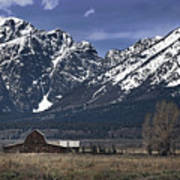 Foothills Of The Tetons Poster