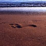 Footprint Poster