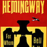 For Whom The Bell Tolls Book Cover Poster Art 2 Poster