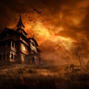 Forbidden Mansion Poster by Svetlana Sewell