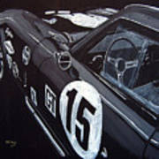 Ford Cobra Racing Coupe Poster