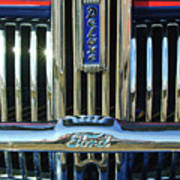 Ford Deluxe Grille Poster