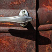 Ford Door Handle Poster