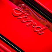 Ford Emblem -0841c Poster