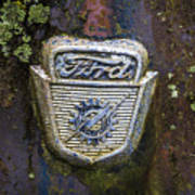 Ford Emblem Poster