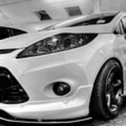 Ford Fiesta In Hdr Poster