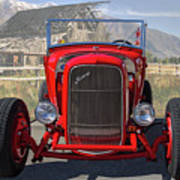 Ford Hiboy Hot Rod Poster