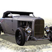 Ford Hot Rod Roadster Poster