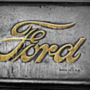 Ford Made In The Usa Poster