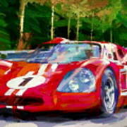 Ford Mark Four Poster