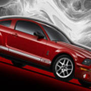 Ford Mustang Gt 500 3 Poster
