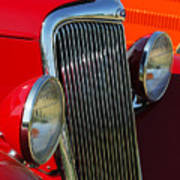 Ford Roadster Grille Poster